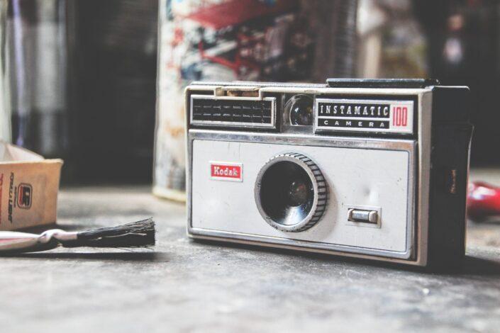 old camera model