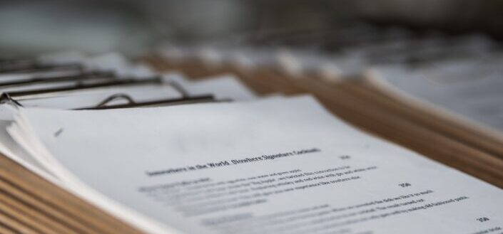 Hard copy of recruitment or hiring documents