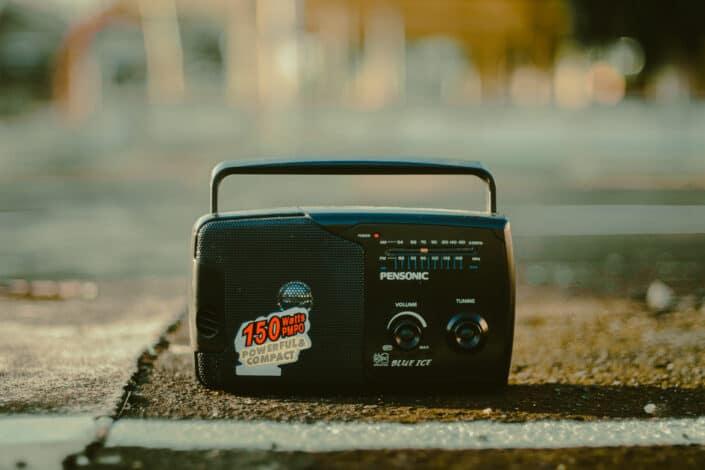 An old radio
