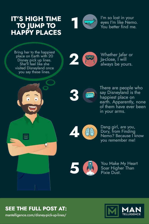 Disney Pick Up Lines - infographic