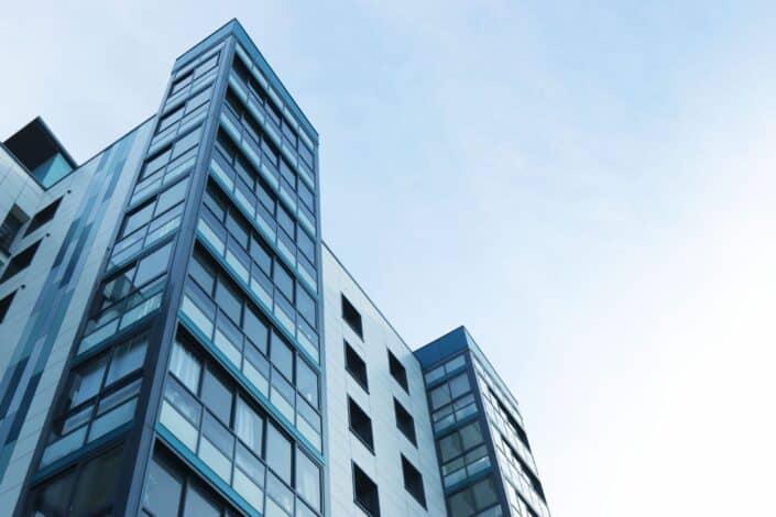 Tall building against sky