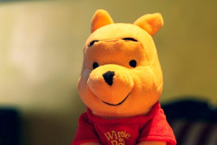 Winnie the pooh stuffed toy