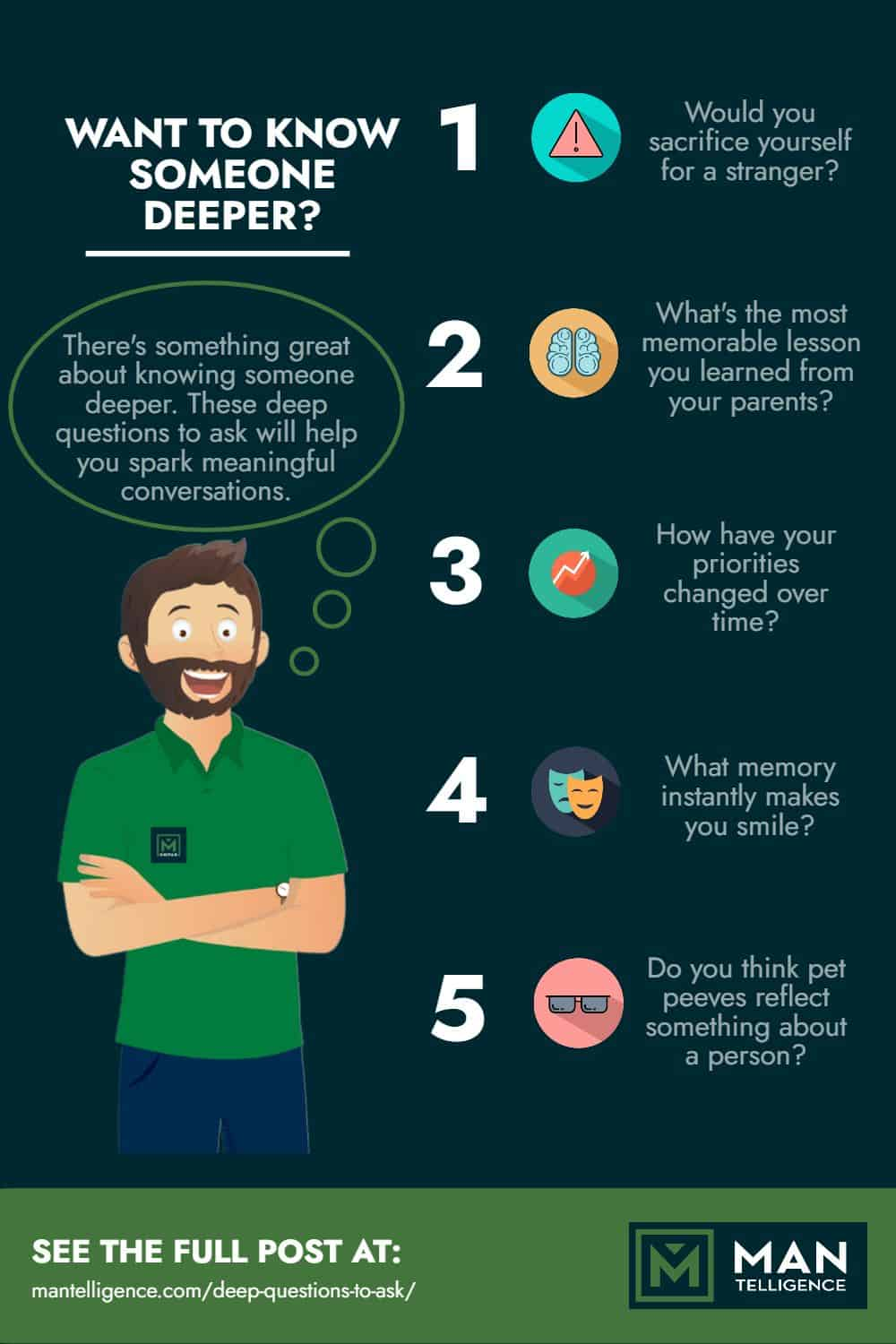 infographic about deep questions to ask