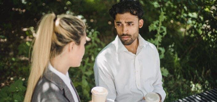 couple having a deep conversation