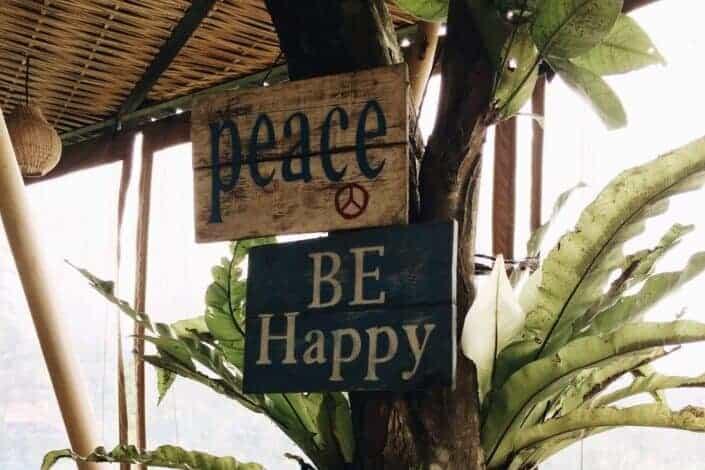 An inspiring sign board
