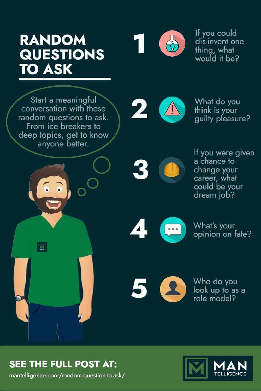 Random Questions To Ask - infographic
