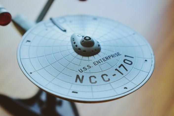 A USS Enterprise piece
