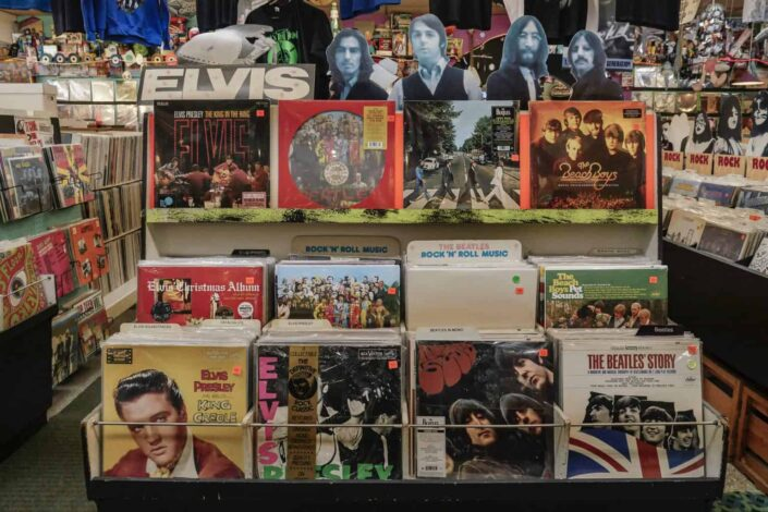 Elvis and the beatles albums