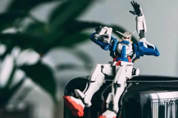 gundam action figure