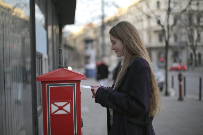 42. Go outside and hug a mailbox until at least three passersby have seen you.